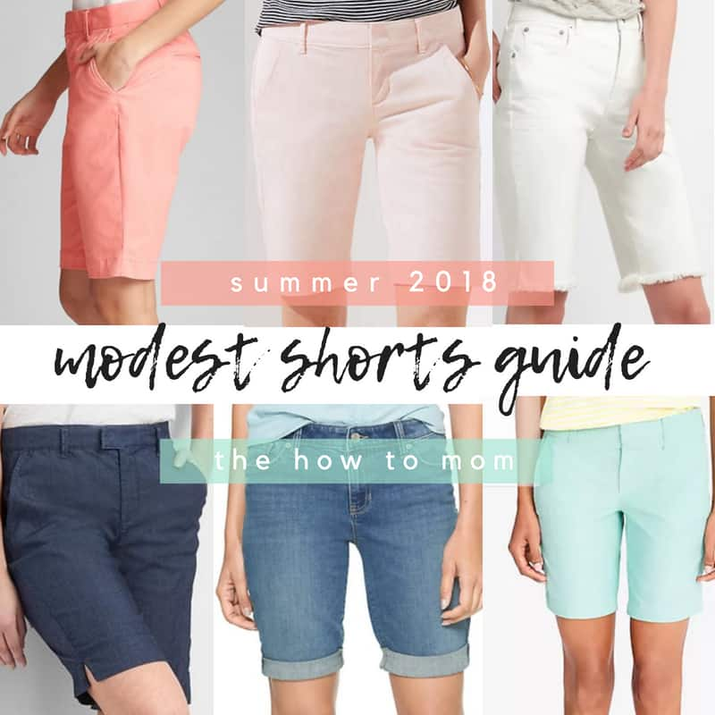 2018 Modest Shorts Guide