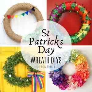 Easy and Fun DIY St Patricks Day Wreaths