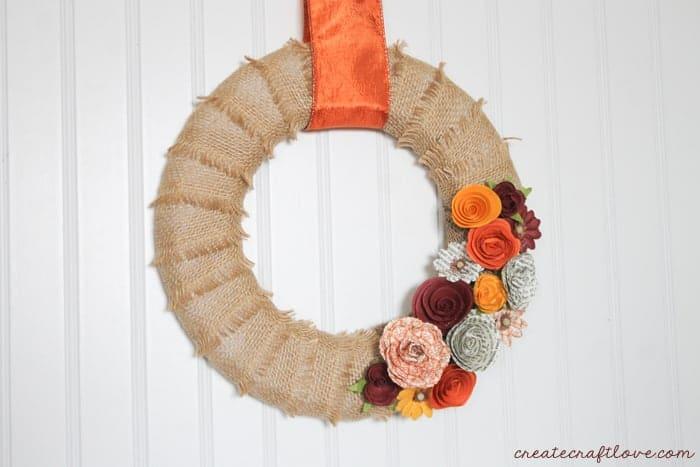 Fall Mini Wreath