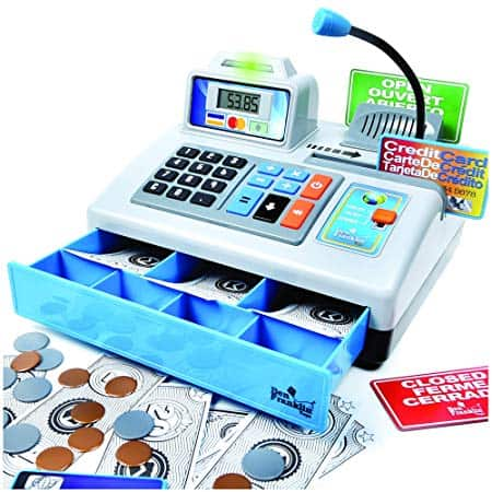 Cash Register with microphone