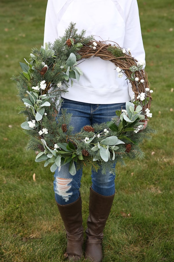 Rustic Farmhouse Wreath