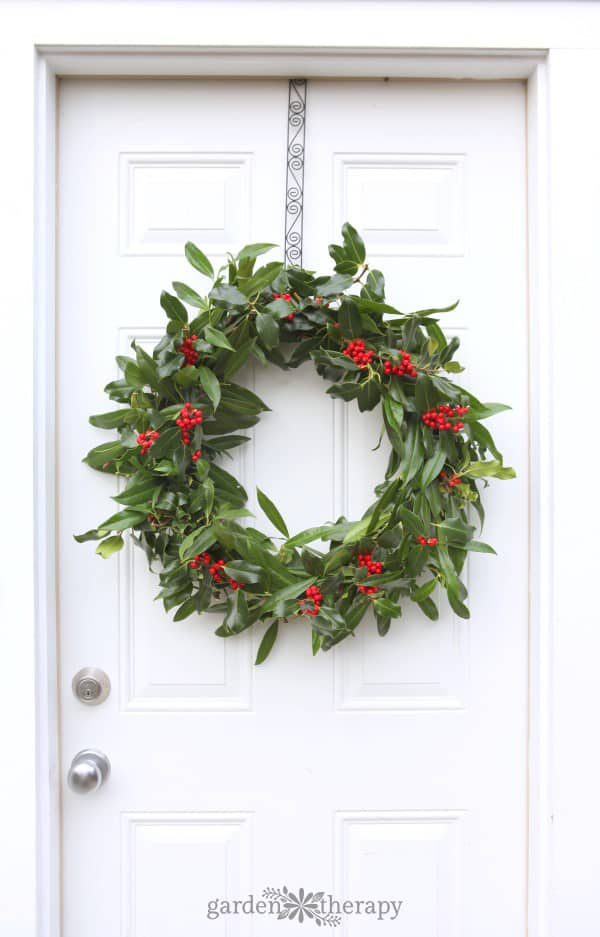 Fresh Holly Wreath