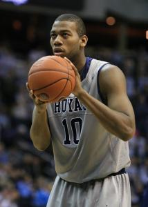 Greg Monroe, who averaged 16.1 points per game this season, is the third Hoya to forgo eligibility and declare for the draft in the last four years.