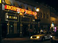 File Photo: HUNTER MAIN/THE HOYA Rhino Bar and Pumphouse on M Street.