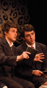 ALEXANDER BROWN/THE HOYA ALL THAT'S KNOWN The play examines the variety of struggles of a group of boys growing up in a sexually and intellectually repressive late nineteenth-century society.