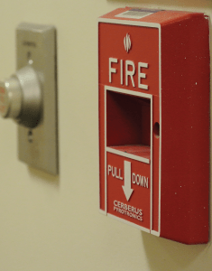 The fire alarm system in the Southwest Quad is currently offline due to technical difficulties. KRISTEN SKILLMAN/THE HOYA