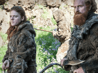 COLLISIONRECORDS  In season four, Ygritte (Rose Leslie) and Thormund Giantsbane (Kristofer Hivju) prepare to march on the South.