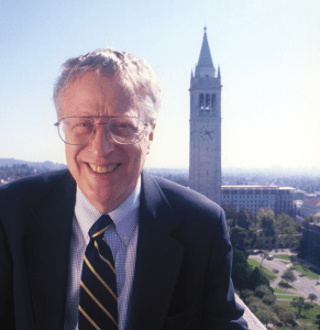 UC BERKELEY George Akerlof, a Nobel Prize winner and economics scholar, will head to the McCourt School in November.