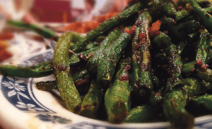 YIWEN HU/THE HOYA If you're looking for a solid Chinese restaurant for take-out or a night with friends, look no further than Sichuan Pavilion. The Dry Stirred Green Beans were a surprising standout, perfectly seasoned and very authentic.