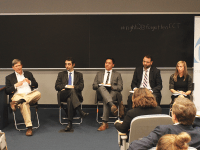 CHARLIE LOWE/THE HOYA A panel discussed European internet privacy laws on Monday.