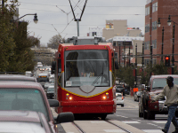 FILE PHOTO: DANIEL SMITH/THE HOYA The H Street-Benning Road NE streetcar project has been delayed again after safety testing revealed the potential for dangerous collisions.