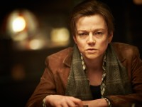 "COURTESY AROUNDMOVIES.COM Sarah Snook plays an androgynous character struggling with his sexuality in the sci-fi thriller ""Predestination."""