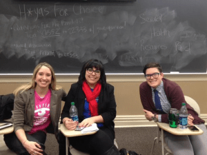 FACEBOOK Panelists discussed contraception, sexual health, the student health center and reproductive rights at an event on Monday night.