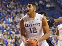 COURTESY MARK ZEROF- USA TODAY SPORTS Karl-Anthony Towns is expected to be selected with the first overall pick in the NBA Draft.