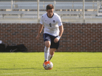 FILE PHOTO: NAAZ MODAN/THE HOYA Junior forward Alex Muyl leads Georgetown with nine assists in the 2015 season. Muyl is also tied for second on the team with five goals, giving him a total of 19 points on the season, second on the Hoyas.