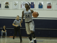 KARLA LEYJA/THE HOYA Sophomore guard Dorothy Adomako scored 24 points and seven points in Georgetown's wins over Providence and Creighton, respectively.