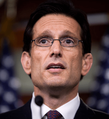 "COURTESY ZIMBIO Former Republican House Majority Leader Eric Cantor discussed the dangers of political ""short-termism"" at a GU Politics event Wednesday."