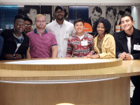 Georgetown Scholarship Program  GSP sponsored a trip to New York City and the Today Show Studio for students during  Spring Break. GSP is seeking to raise $25 million to fund an endowment for its programs.