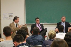 """Courtesy georgetown university lecture fund In light of the coming 15th anniversary of the Sept. 11 terrorist attacks, the Georgetown Lecture Fund hosted an event entitled """"Looking Back, Looking Forward,"""" which focused on the decline of foreign terrorism threats."""