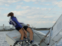 COURTESY GUHOYAS The sailing team will compete in two non-qualifying regattas over this weekend.