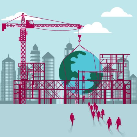 COURTESY MSB A new master's program uses the theme of trying to build a globally workable economy.
