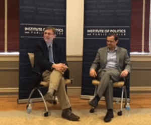 FACEBOOK Tom Perriello, a Democratic candidate for governor in Virginia, urged noncompliance and state action against President Donald Trump's administration in an event hosted by the Georgetown Institute of Politics and Public Service.