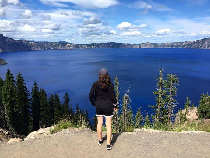 marissa at crater lake