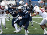 GUHOYAS  Freshman running back Jay Tolliver has rushed for 15 yards this season on eight carries.