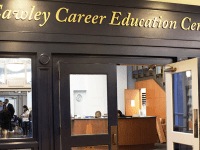 ANNA KOVACEVICH/THE HOYA Cawley Career Center has drawn criticism from students, despite its recent efforts to improve.