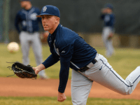 GUHOYAS Sophomore left-hander Brent Killam pitched a complete game in the second game of Georgetown's four-game series against Princeton. Killam allowed just one run on three hits, two walks and six strikeouts.