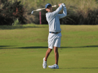 GUHOYAS Senior Cole Berman finished in the top-10 in the FAU Spring Championship with a score of 212.