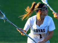 GUHOYAS Sophomore attacker Michaela Bruno scored one goal and notched two assists in Georgetown's loss against Virginia Tech.