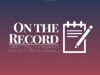 CAROLINE GARDNER/FOR THE HOYA On the Record is a new student-run publication funded by GU Politics that will promote political dialogue.