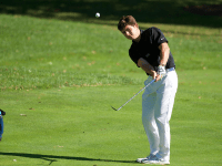 GU HOYAS Despite inconsistent putting, tough conditions, and a young lineup, the Georgetown men's golf team managed to take third at Villanova's Wildcat Fall Invitational.