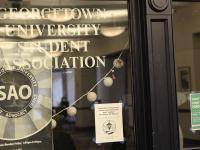 ANNE STONECIPHER/THE HOYA Georgetown University Student Association