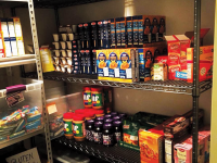 HOYA HUB | Since the food pantry Hoya Hub opened in October 2018, 130 people have signed up, including undergraduate students, graduate students, staff and alumni. Nearly two-thirds of registered students said they do not have a campus meal plan.