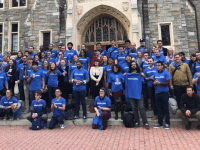 GAGE/FACEBOOK | Graduate student workers are prioritizing worker compensation and health insurance coverage as the Georgetown Alliance of Graduate Employees prepares to start contract negotiations with the university.