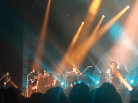 """ANNIE GOTT/THE HOYA   Country singer Kacey Musgraves debuted her first album, """"Same Trailer, Different Park,"""" in 2013 and has only gained popularity since. As demonstrated at her Jan. 24 show at The Anthem, Musgraves' songs have incorporated more of a disco sound in recent years, which sets her apart from traditional country artists."""