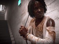 "MONKEY PAW PRODUCTIONS | Establishing Jordan Peele as one of the strongest directors of his generation, ""Us"" offers a scathing commentary on class and privilege while avoiding becoming pedantic. With standout performances by Lupita Nyong'o and Winston Duke, ""Us"" will keep audiences thinking about its central metaphor even after the film ends."