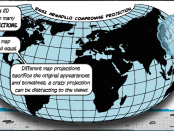 Armadillo Map Projection