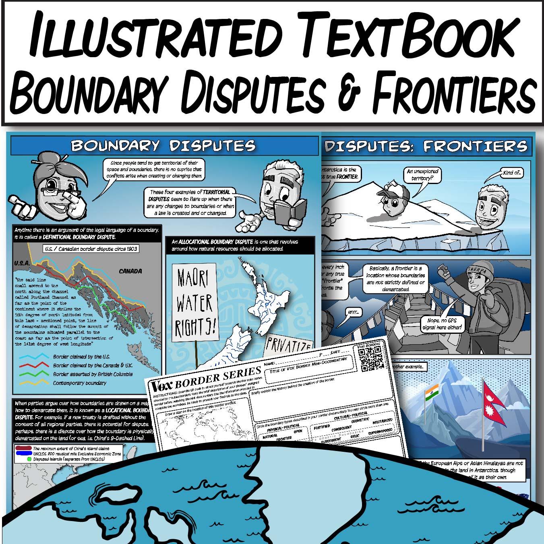 Lessons Amp Worksheets Border Disputes With Vox Border