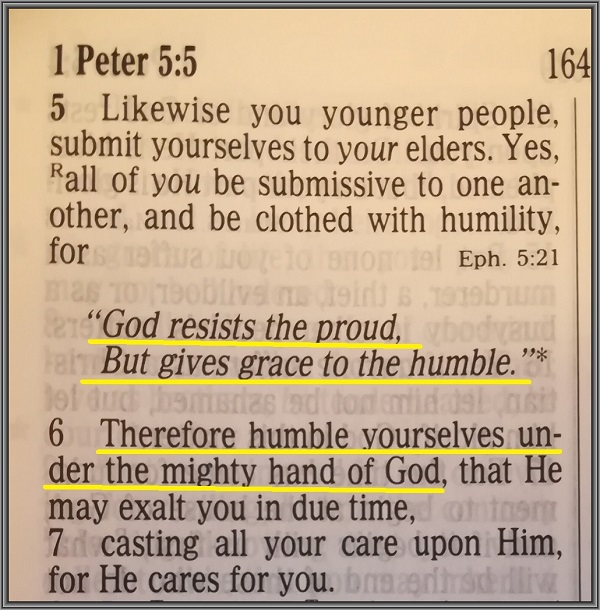 The Humble Saint
