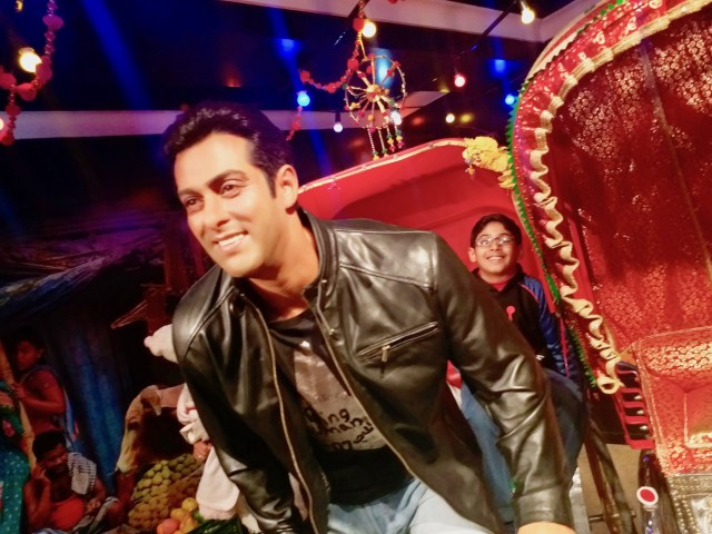Salman Khan at Madame Tussauds Delhi