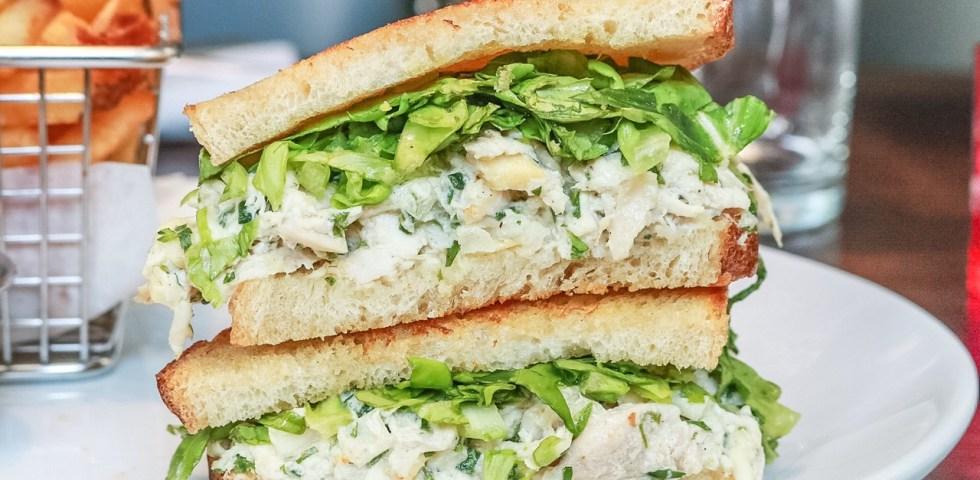 Peruvian Chicken Salad Sandwich, 5Church, Atlanta