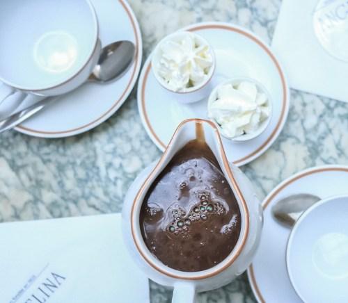 hot chocolate angelina paris