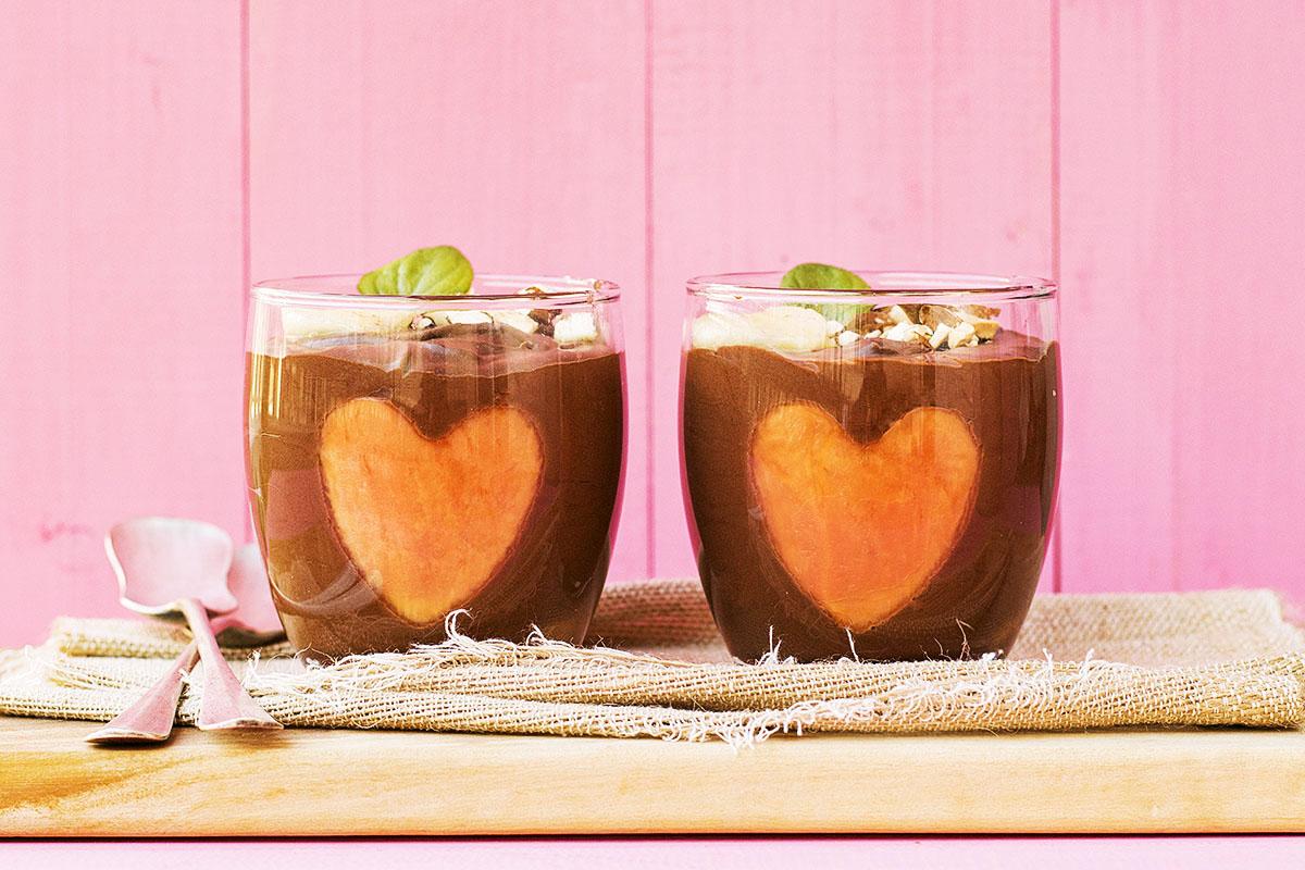 Almond milk & chocolate vegan mousse 2 ways 5