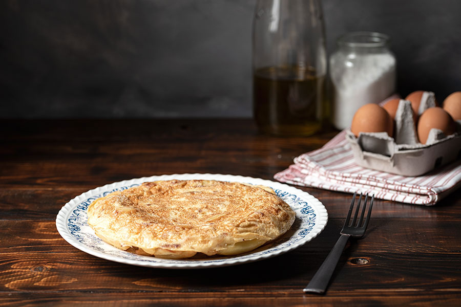 Spanish tortilla recipe (omelette with potatoes)