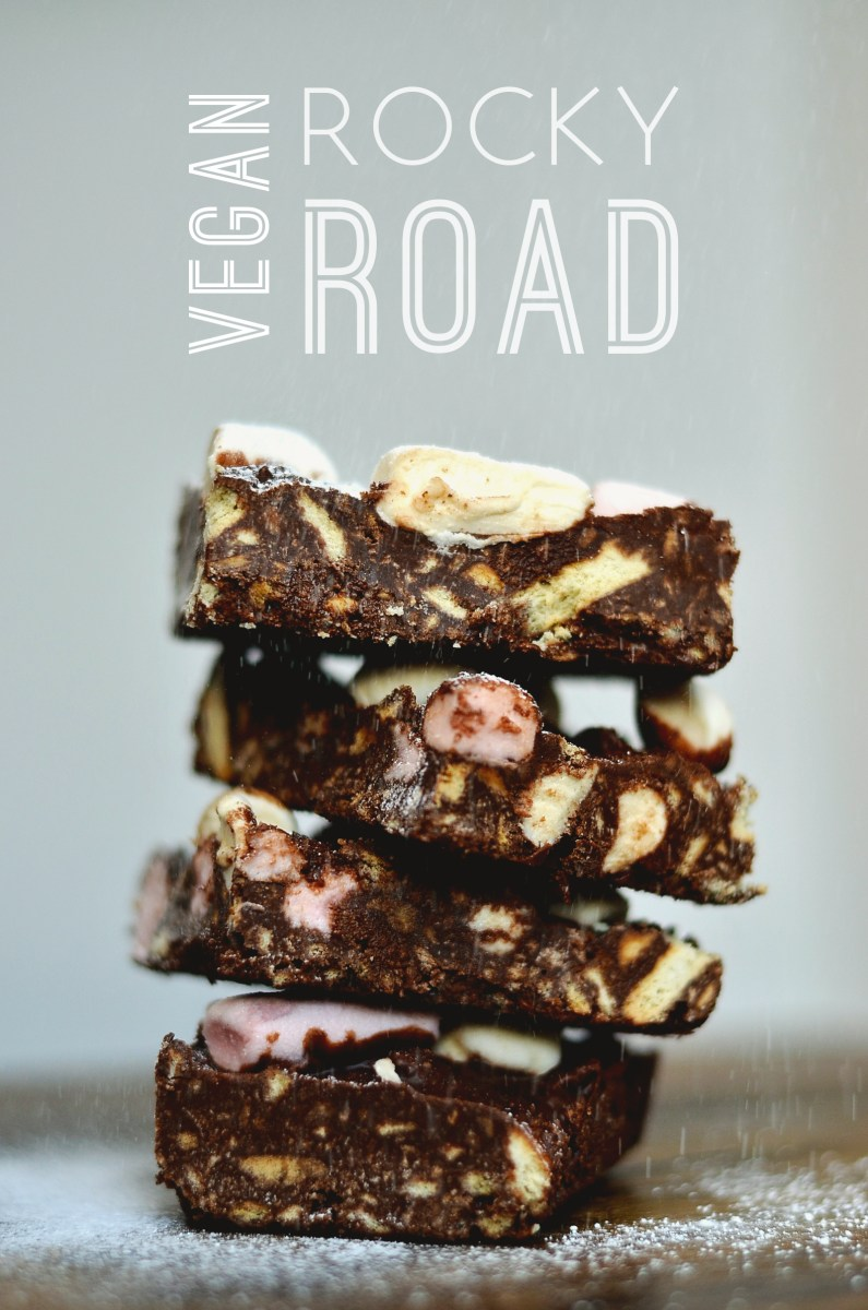 Vegan Rocky Road
