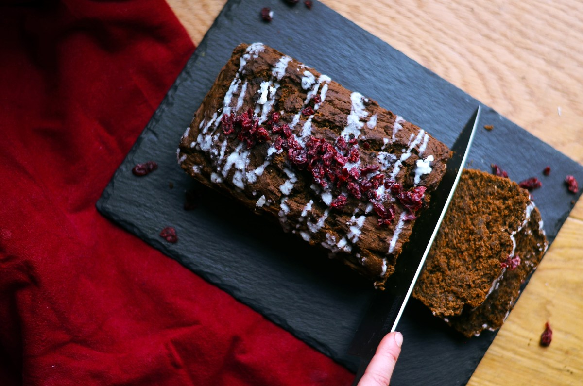 Vegan Gingerbread Loaf (GF)