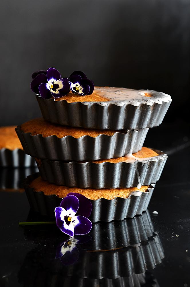 Lemon & Elderflower Tartlet Cakes